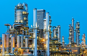 Ginho widely supply the petrochemicals industry with castings for safety-critical applications
