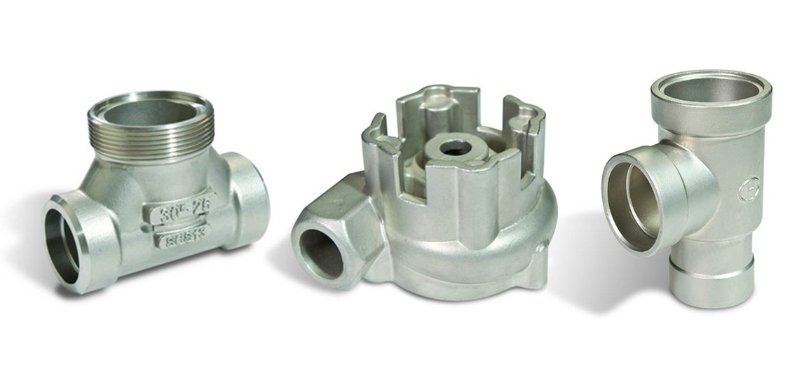 Ginho's pump and valve components, supplied either in the as cast condition or machined